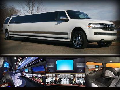 15 Passenger SUV Limousine