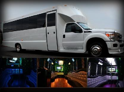 25 Passenger Limousine Bus