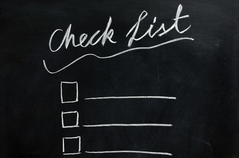 Prom Limousine Checklist
