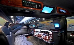Limousine Interior View